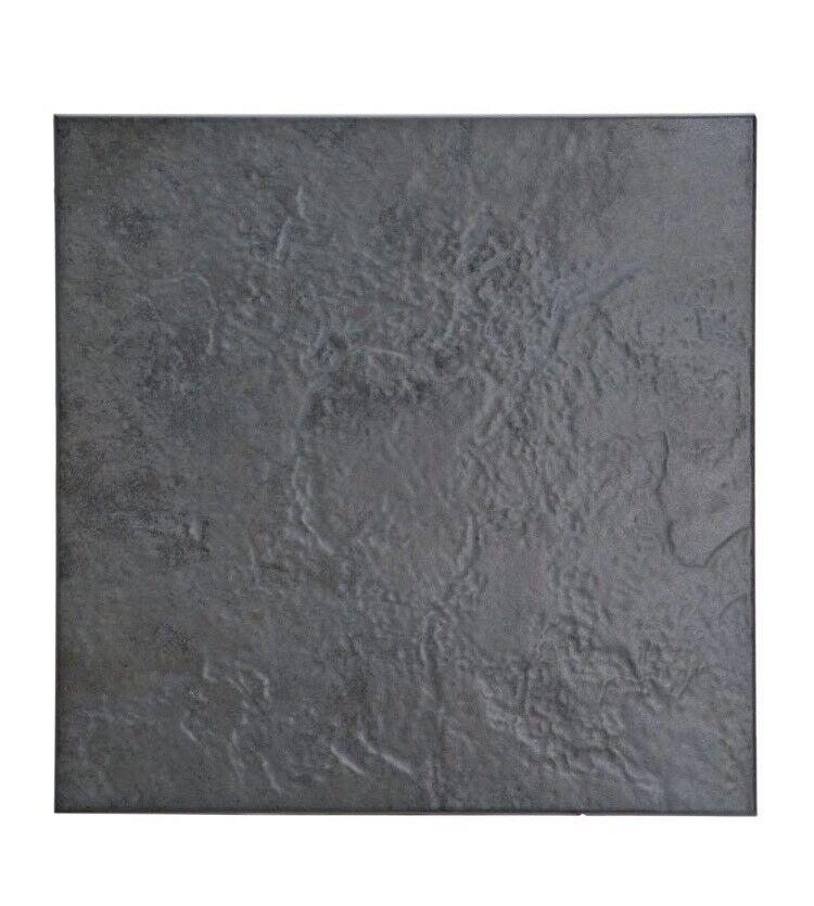 2 Packs Cirque Black Stone Effect Tiles