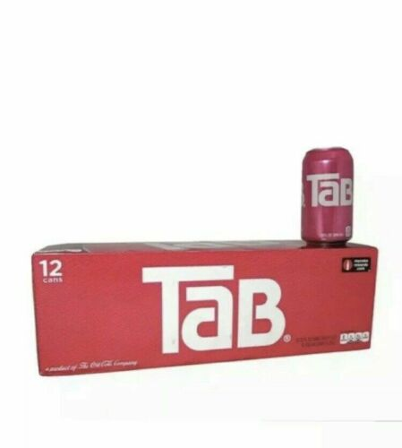 Tab Soda Cola Brand New Unopened 12 Pack - Free Shipping - Not Expired