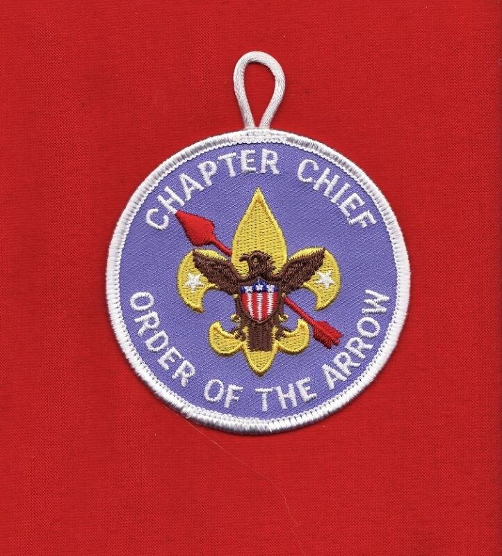 CHAPTER Chief OA Lodge Order Arrow Patch Boy Scout BSA