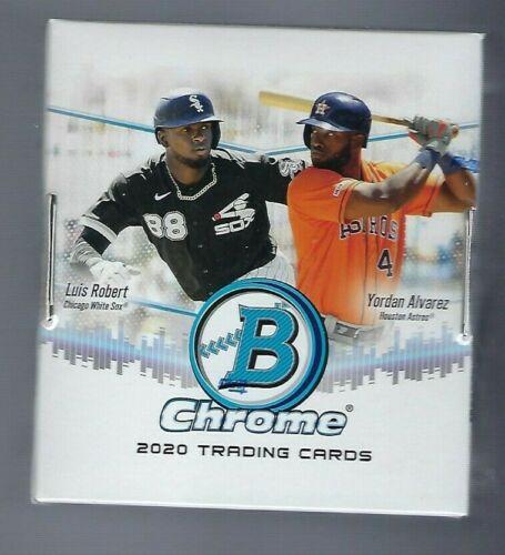 2020 Bowman Chrome Baseball Factory Sealed Hobby Box