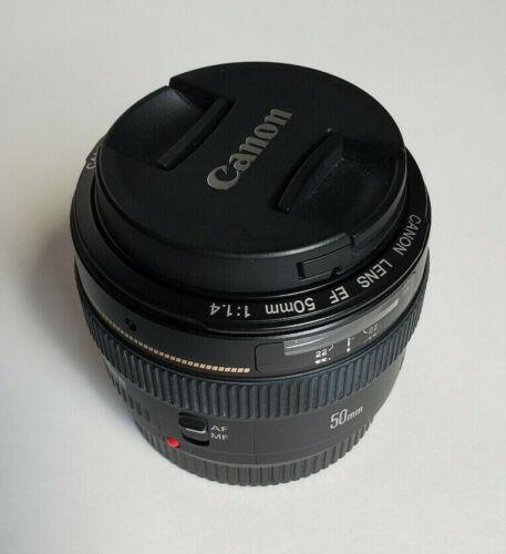 Canon 50mm f/1.4 USM EF Prime Lens