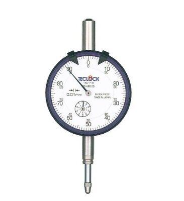 Teclock Standard Dial Indicator 010mm Tm-110 Made In Japan
