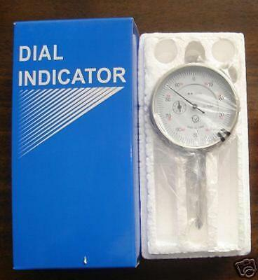 """SPECIAL 8pc  BLACK FACE AERO SPACE BRAND NEW 0-1/"""" DIAL INDICATOR"""