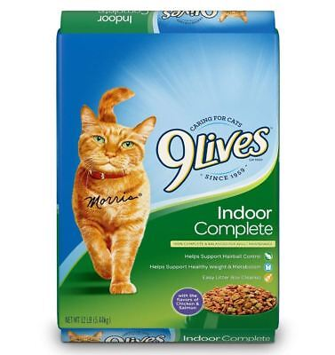Best 9 Lives 9Lives Dry Cat Food 12lbs 9Lives Indoor Complete Dry Cat Food 12