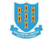 Open Training Ballymena Untied Youth Academy 2007s