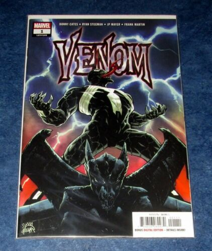 VENOM #1 1st print DONNY CATES RYAN STEGMAN MARVEL 2018 KNULL COVER ? NM HOT