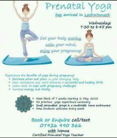 Prenatal Yoga in Lochwinnoch