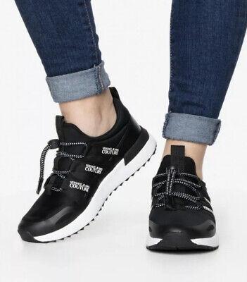 New Versace Jeans Couture Linea Fondo Women Trainers Shoes Size 7 Uk 40 Eu