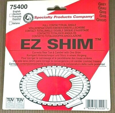 Specialty Products #75400- EZ SHIM- Grey  - Alignment Camber/Toe Shim-FWD Rear