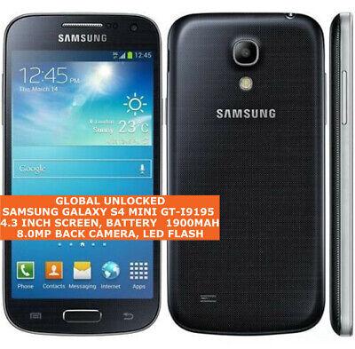 Samsung GALAXY S4 MINI GT-I9195 Libre 8gb Quad Core Android 4g LTE...