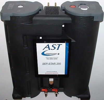 Sep-star Oil Water Separator For Air Compressor Condensate Up To 350 Cfm