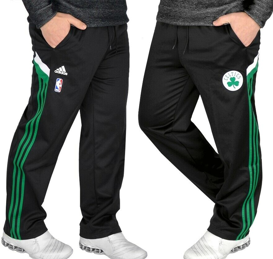 bf5165f20df30d ... Adidas Boston Celtics Pant Men Herren Trainingshose Jogging Hose  schwarz grün