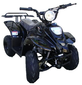 New 2014 Black 110cc Kids Sporty ATV 110cc Auto Quad 4 Wheeler Youth 110cc ATV