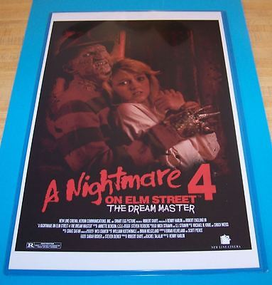 Nightmare on Elm Street 4 Freddy Krueger 11X17 Movie Poster Alternate Image