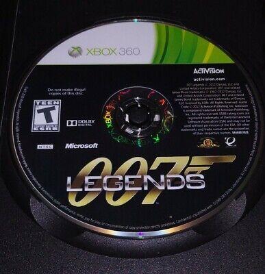 007 Legends James Bond (Microsoft Xbox 360, 2012)