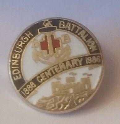 RARE BOYS' BRIGADE EDINBURGH BATTALION CENTENARY BADGE BBS BOY'S