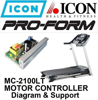 equipment parts accessories treadmill motor control treadmill proform healthrider icon mc2100lt rev motor controller diagram