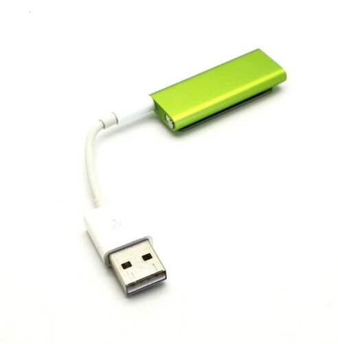 Apple Ipod Shuffle A1271 Green 2GB with charger Cable Mp3