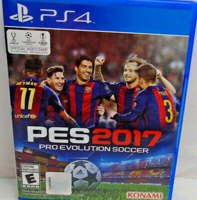 Pro Evolution Soccer 2017 PES 17 PlayStation 4 PS4