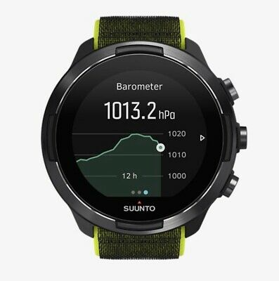 Suunto 9 Baro Lime Watch - SS050449000