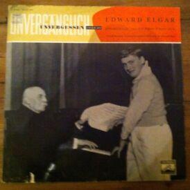 Elgar Violin Concerto: Yehudi Menuhin, cond. by composer