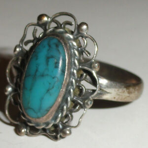 Vintage mechden mexico sterling silver 925 ring w stone for What does 925 ksj mean on jewelry
