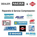 Onderhoud Compressor Kaeser, Airpress, Alup, Abac, Atlas