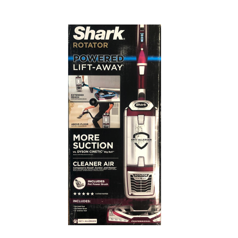 New Shark Rotator Powered Lift-Away TruePet Bagless Vacuum N