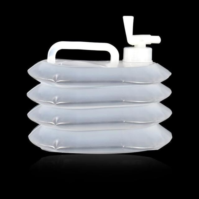 3L Collapsible Folding Water Dispenser Portable Drinks Container Camping Tap