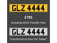 4 Digit - Dateless Personal Private Cherished Registration Number Plates
