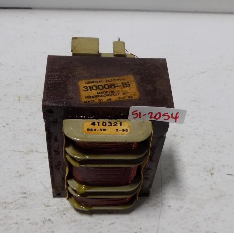 GENERAL ELECTRIC TRANSFORMER 310008-15