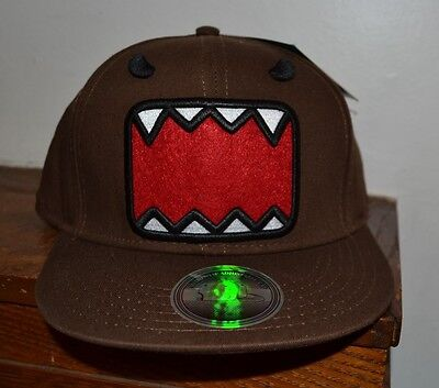 Domo Hat (VAMPIRE Domo Adjustable Flat Bill Hat Officially Licensed DOMO Merchandise )