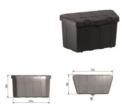 Deichselbox Deichselkasten Werkzeugkasten Anhängerkasten für Deichsel L234322001