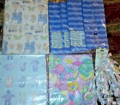 NEW  American Greetings Baby Shower Gift Wrapping Paper +MORE GOT TO LOOK ](Baby Shower Gift Wrapping Paper)