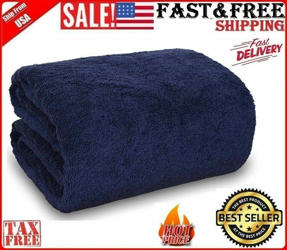 """Large Oversized Bath Sheet 40""""x80"""" Luxury SPA Turkish Cotton"""
