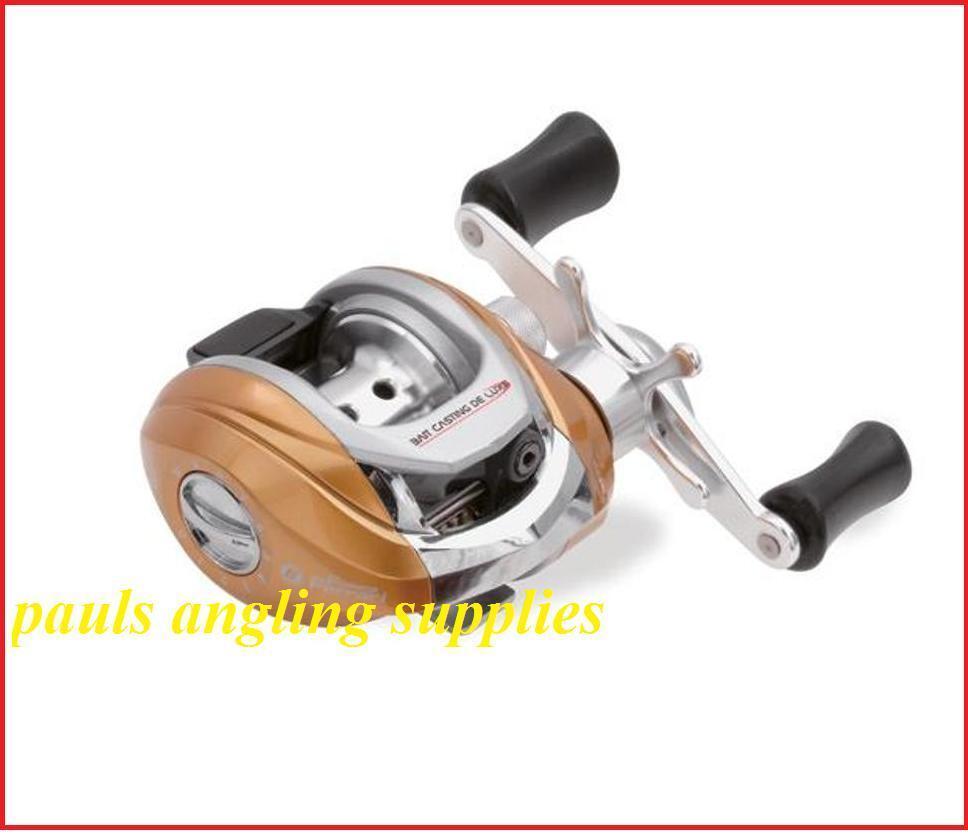 Lineaeffe left hand wind baitcaster multiplier spinning for Fishing reels baitcaster