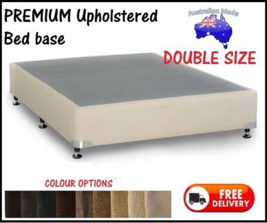 FREE Delivery - DOUBLE Size PREMIUM UPHOLSTERED Ensemble Bed Base