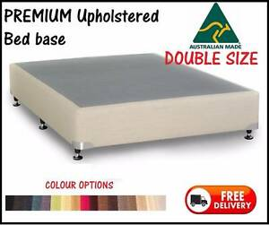 DELIVERED FREE DOUBLE Size PREMIUM UPHOLSTERED Ensemble Bed Base New Farm Brisbane North East Preview