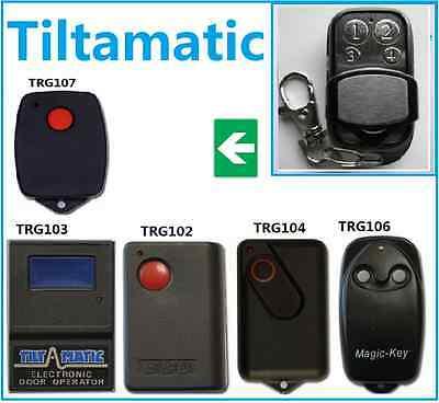 TiltaMatic Garage Door Remote Control Garage Door Opener