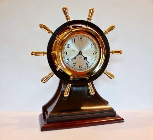 """Chelsea Ship's Bell Clock Mariner 6"""" Dial - Limited Edition"""