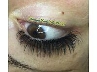 *OFFER*Professional semi-permanent individual mink eyelash extensions £35 (original price £60)