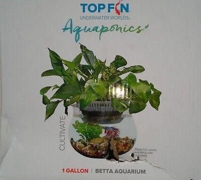 TOPFIN  1 Gallon  TOP FIN Beta Tank