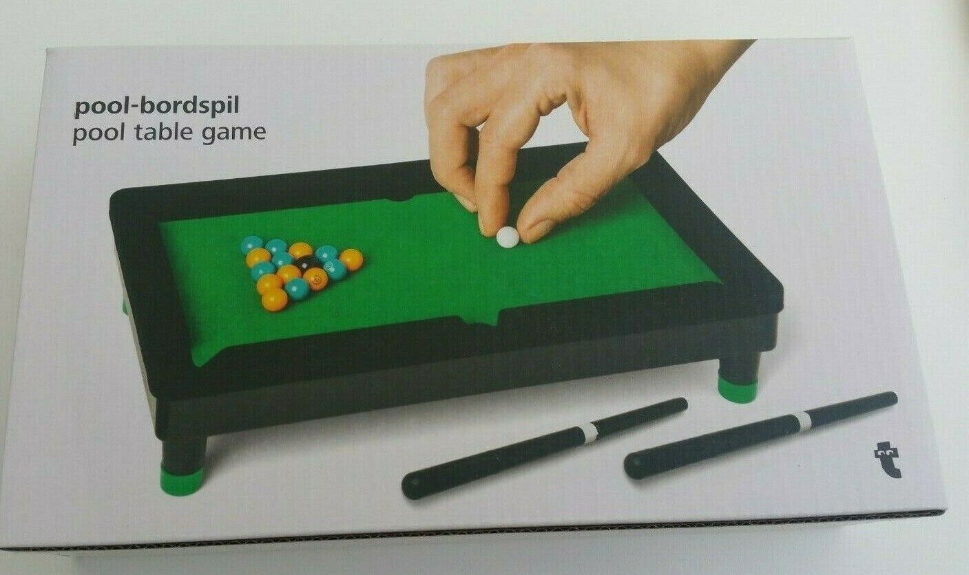 NEW DESK TABLE TOP POOL TABLE BOXED NOVELTY GIFT