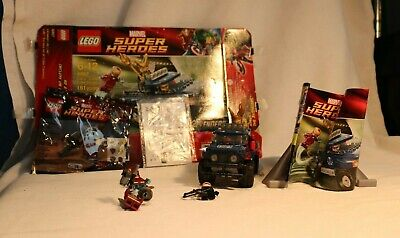 LEGO Marvel sets - Loki's Cosmic Cube Escape 6867 and two 5002145 Rocket Raccoon