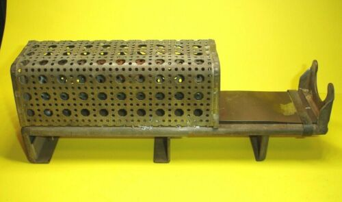 Vintage Industrial Soldering Iron Stand Holder Marked 504A w/ Integral Clamp **
