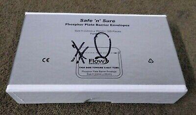 Flow Dental Barrier Sleeves -phosphor Plates Size 0 Qty 540