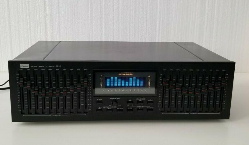 SANSUI SE-8 Stereo Graphic Equalizer Spectrum Analyzer