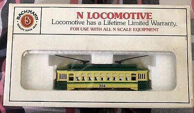 Bachmann N Locomotive - Brill Trolley - Philadelphia Rapid Transit (In Box) for sale  Corona