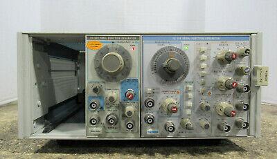 Tektronix Tm 504 Mainframe W Fg 502 11 Mhz Fg 504 40 Mhz Function Generators