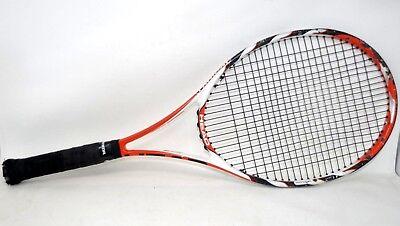 Head Radical Microgel 98 MP Mid Plus Tennis Racquet Clear Strings Strung, usado segunda mano  Embacar hacia Argentina
